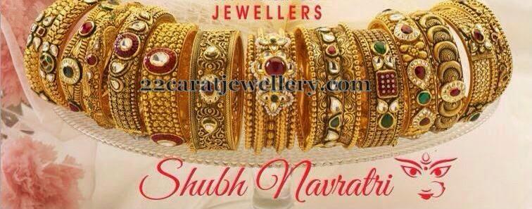 Gold Bangles by Neelkanth Jewellers Jewellery Designs