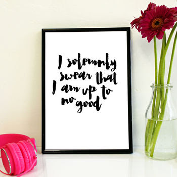 typography art print www.thelavenderbarn.blogspot.co.uk