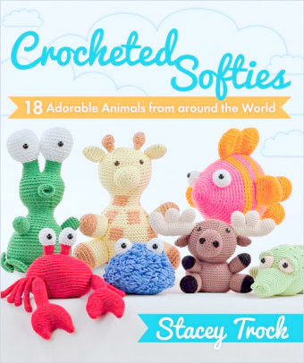 Amvabe Crochet Crocheted Softies 18 Adorable Animals From Around
