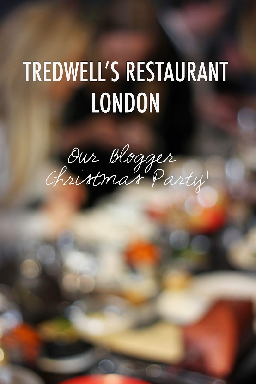 Christmas Fare | Tredwell's London