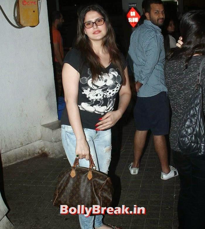 Zarine Khan, Zarine Khan Latest photos in Jeans & Top