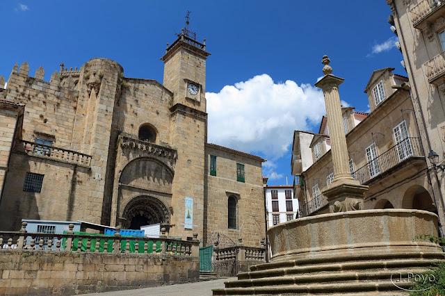 Plaza del Trigo Catedral Orense