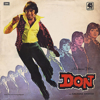 Amitabh Bachchan in and as Don in the 1978 Bollywood Classic