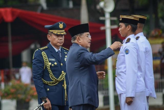 Jusuf Kalla : Lulusan IPDN Tak Banyak Terlibat Korupsi