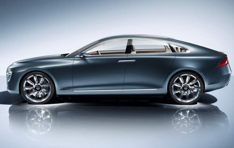 super cars blog volvo c90 concept luxury coupe. Black Bedroom Furniture Sets. Home Design Ideas