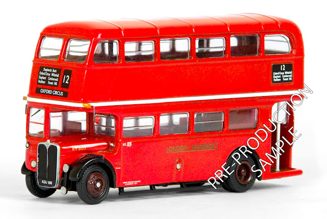 EXCLUSIVE FIRST EDITIONS 34112 - AEC RT Bus - London Transport
