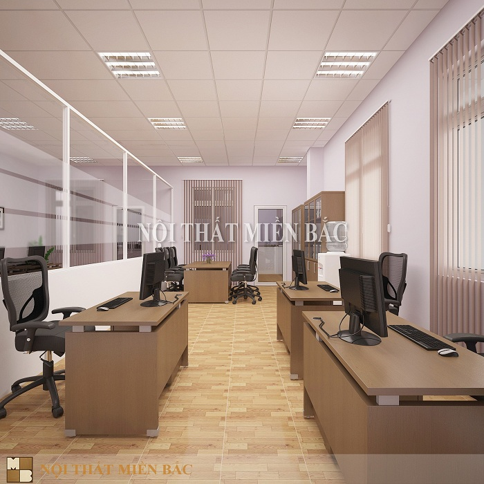 Thiết kế văn phòng đẹp tối ưu hóa công năng nội thất