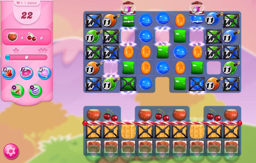 Candy Crush Saga level 6398