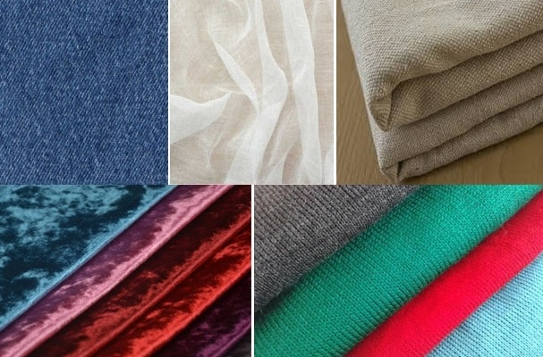 Different types of cotton fabric