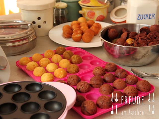 """"""" Vegane Cake-Pops"""" oder Freude am Kochen schreibt ein Buch - Freude am Kochen"""