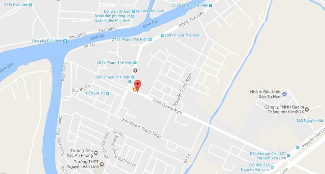 Bán nhà mặt tiền đường Trịnh Quang Nghị, phường 7, Quận 8