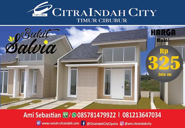 Bukit SALVIA - All New Semi RE Citra Indah City mulai dirilis - Harga Mulai 325 Jtan
