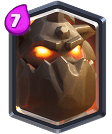 Carta da Lava Hound do Clash Royale