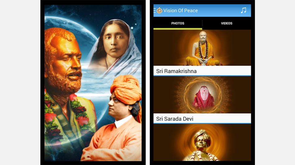 5 free best and must to have spiritual android apps for 2015 - Free Ramakrishna Math android app - Turn Spiritual, Turnspiritual.in