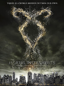 Poster Of Hollywood Film The Mortal Instruments City of Bones (2013) In 300MB Compressed Size PC Movie Free Download At worldfree4u.com