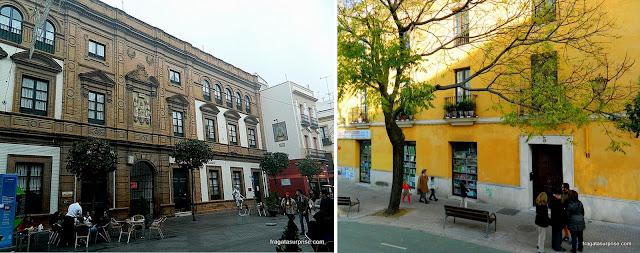 Ruas do bairro de Triana, em Sevilha