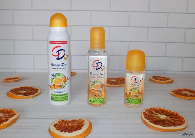 Pomarańczowa świeżość z dezodorontami Happy Deo Orange Blossom, CD