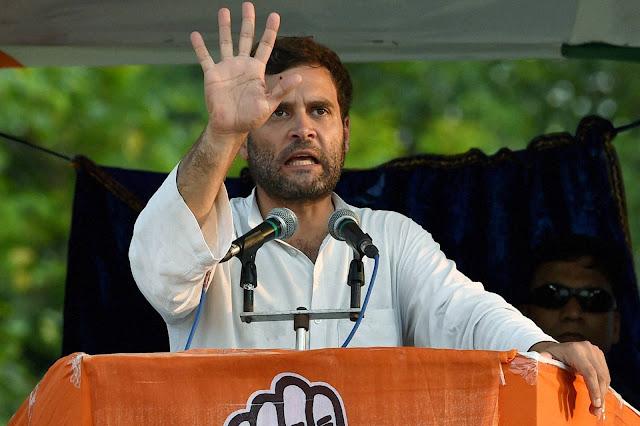 राहुल गांधी ने मोदी पर बोला हमला कहा मोदी सरकार कर रही हैं किसानों को अनदेखा