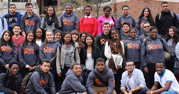 Students enrolled in Princeton University's Preparatory Program