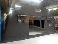 Tenda Tiup/Tenda Inflatble Oval 5,7x7,5x2,8
