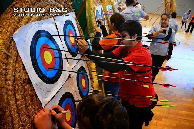 Αγώνες Τοξοβολίας Κλειστού Χώρου στο Κλειστό Γυμναστήριο της Αγίας Τριάδας Ναυπλίου
