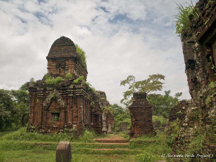 My Son , templos - Vietnam por El Guisante Verde Project