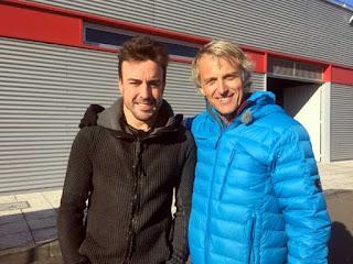 Planeta Calleja con Fernando Alonso 1