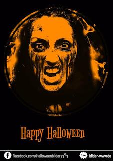 Happy Halloween sehr gruselig