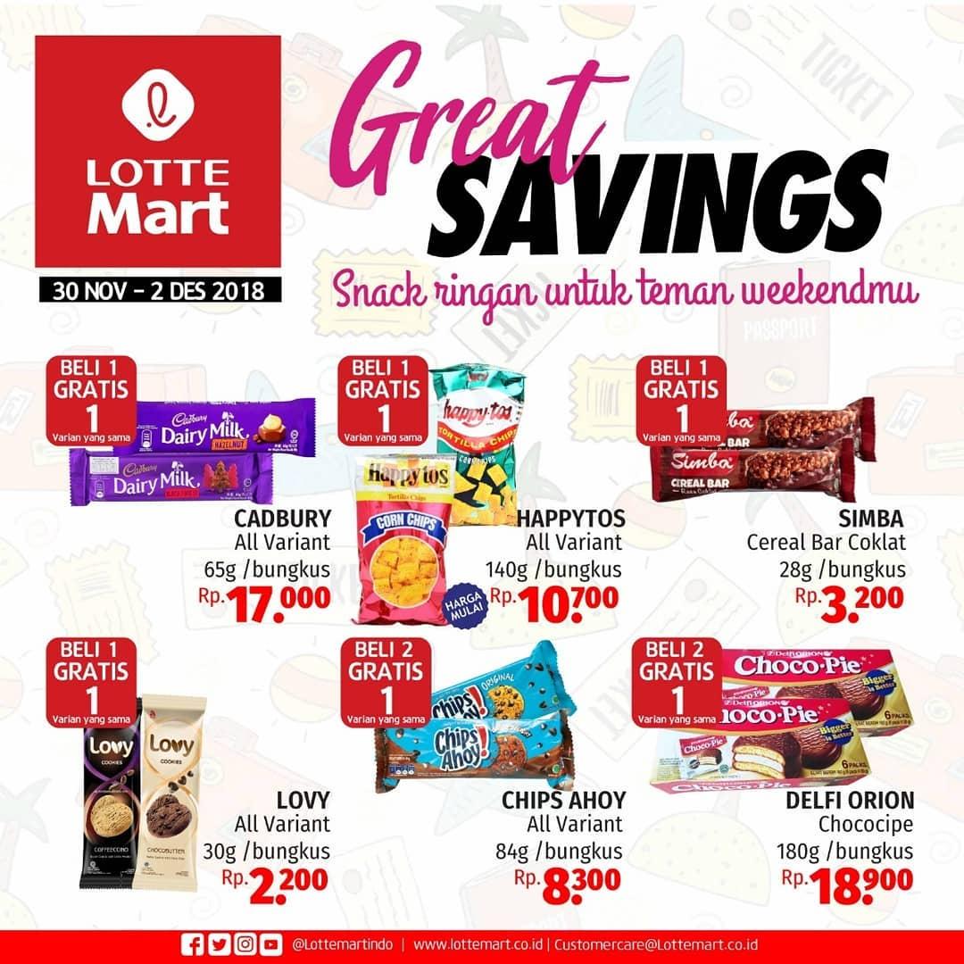 LotteMart - Promo Katalog JSM Periode 30 - 02 Desember 2018