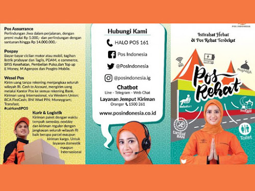 Posko Rehat Pos Indonesia 2019