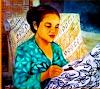 Cara Membuat Batik Cap, Batik Tulis, dan Batik Printing