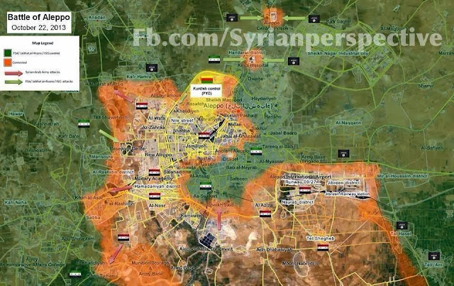 Updated Map of Aleppo 1