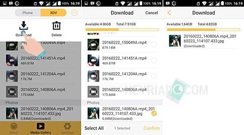 Cara Transfer File Dari Kamera Kogan Ke Android
