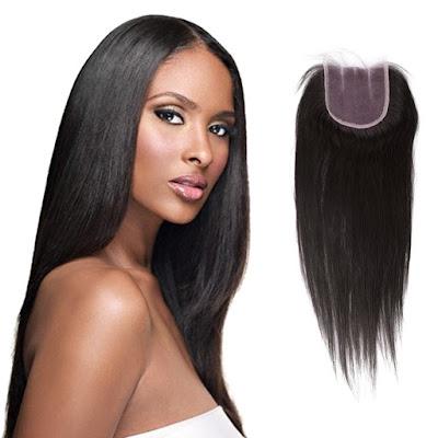 10-20 Inch Virgin Brazlian Hair Straight 4*4 Three Part Lace