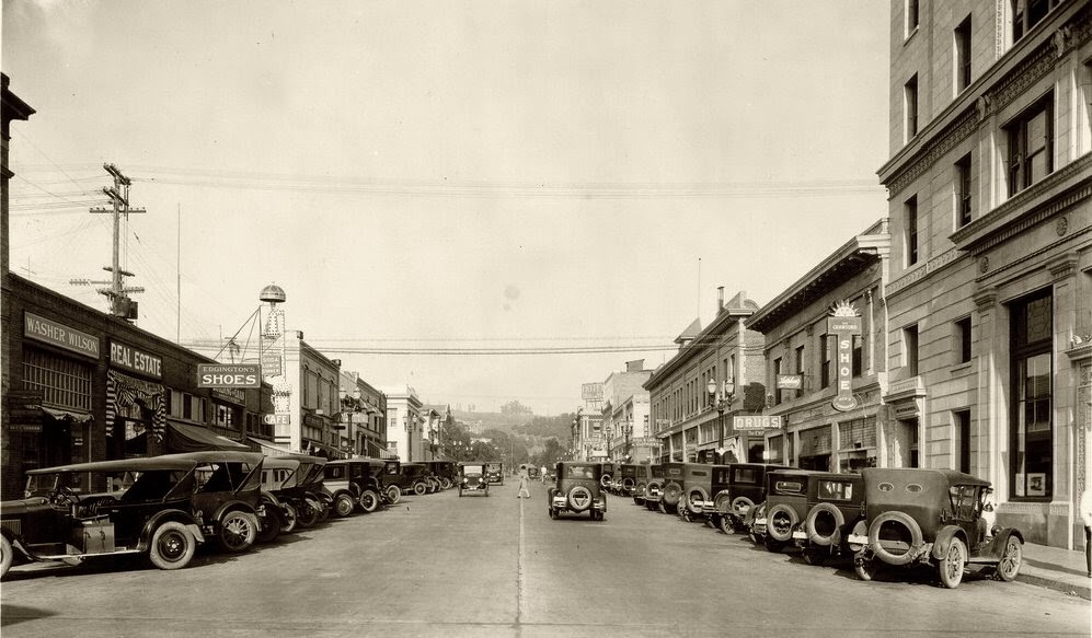 Philadelphia St Whittier Ca 1924 Vintage Everyday