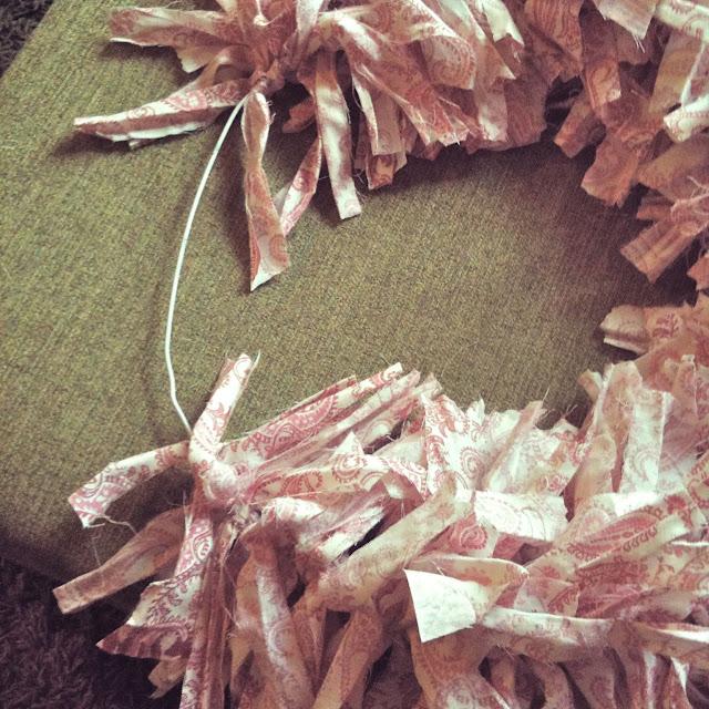 Shabby Chic Valentine's Day Wreath