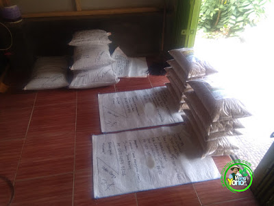 Benih pesanan  SITI ROHANI Lampung Timur, Lampung   (Sebelum Packing)