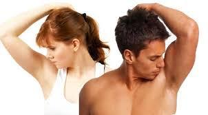 cara hilangkan bau badan