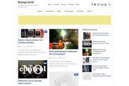Kompi Grid Responsive Template Blogger Free Download