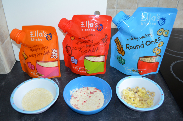 ellas kitchen baby food floor rugs ella s wakey breakfast range love from mummy both of these went down a treat with riley and the consistencies are definitely better than your usual rice porridge