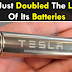 Tesla Doubled The Lifetime Of Its Batteries To 4 Years Ahead Of Schedule!!