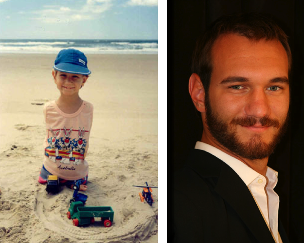 Life Without Limbs Founder Nick Vujicic Tells Kids to ... |Nick Vujicic Kiyoshi James Vujicic