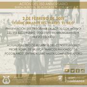 Presentación de los actos del 150 Aniversario