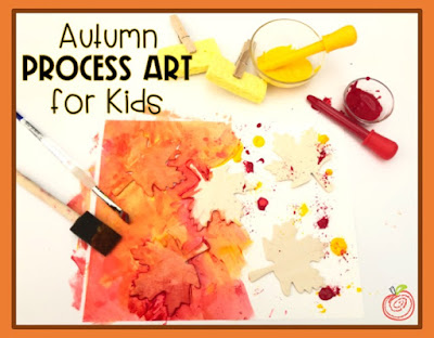 Autumn leaves art project