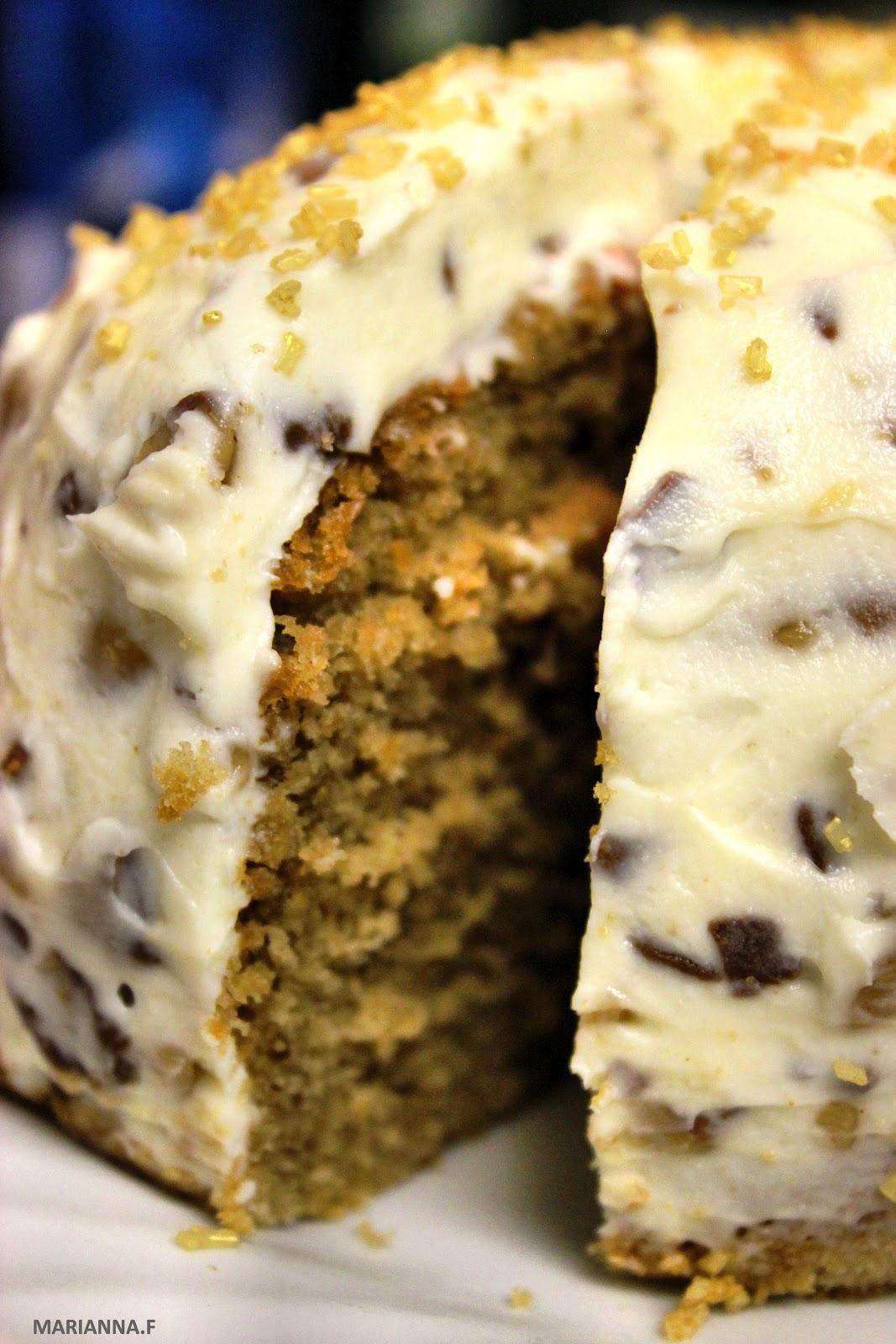 Swirl Amp Scramble Caramel Cake Amp Crunchy Chocolate Toffee