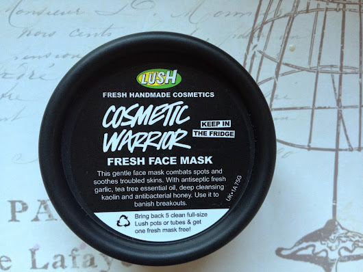 Review: LUSH COSMETIC WARRIOR