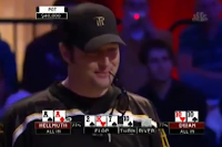 Hellmuth loses to Dwan in 2008 NBC National Heads-Up Poker Championship