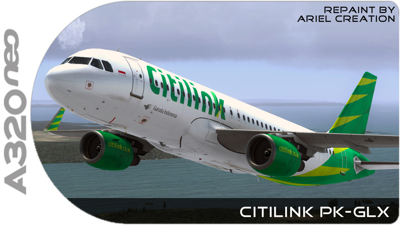 Citilink aerosoft airbus a320 livery fsx ariel creation flight citilink aerosoft airbus a320 livery fsx reheart Image collections