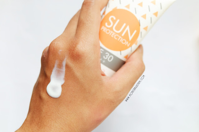 review emina sun protection