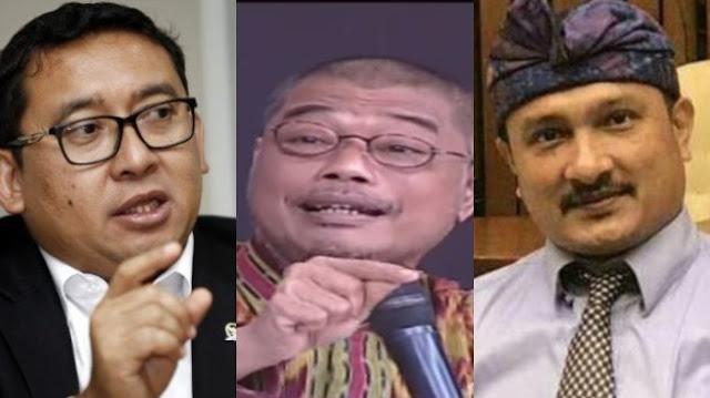 Omongan Satgas BPIP Denny Susetyo soal Pancasila di ILC Jadi Tertawaan Fadli Zon dan Ferdinand